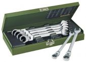 Proxxon 23068 Sada MICRO-Combispeeder ráčn. kloub. klíčů