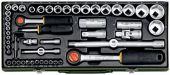 Proxxon 23040 Sada nástrčných hlavic 1 / 4 a 1 / 2