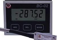 Bateriová digitální indikace se snímačem