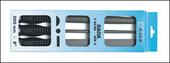 sada dílenských pilníků třídílná 250mm